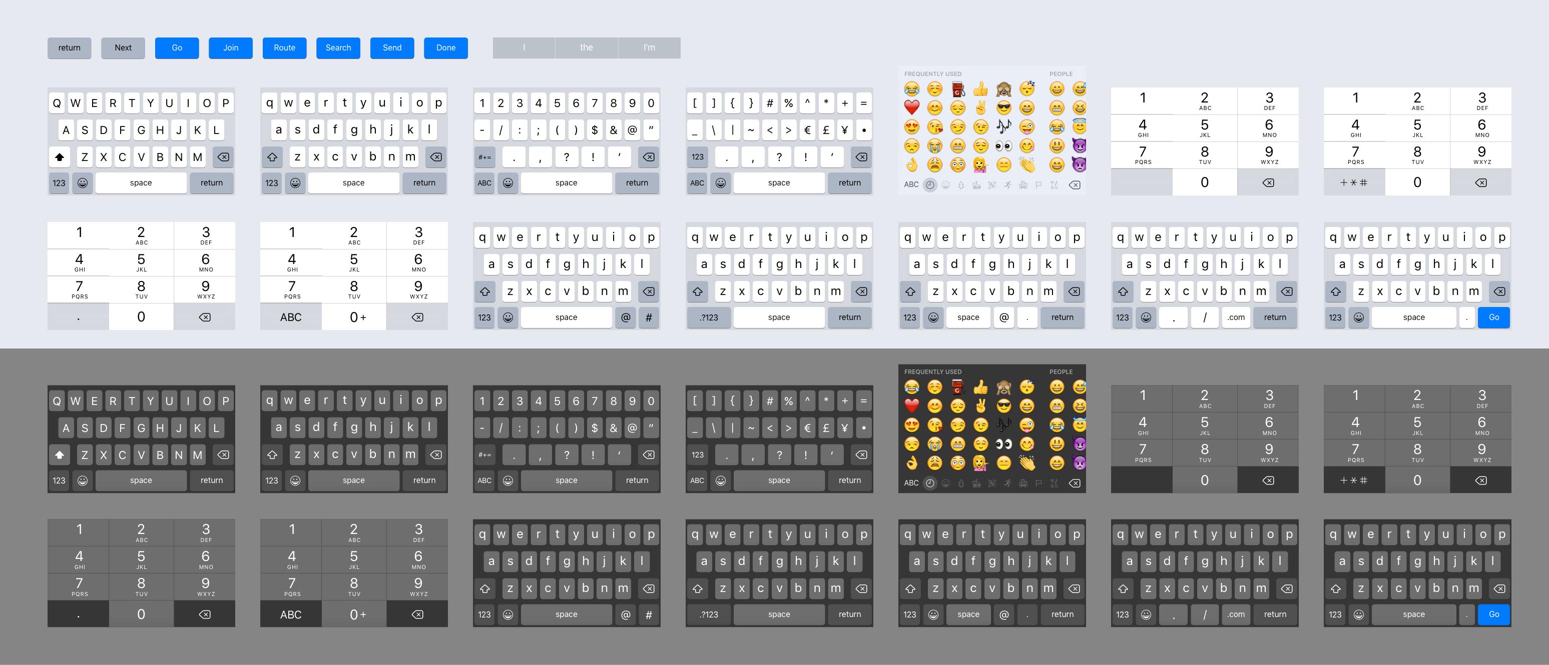 Free IOS 9 Sketch Keyboard Kit Wp Gaint Freebies