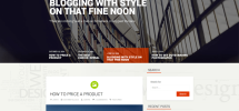 Everal-free-WP-theme